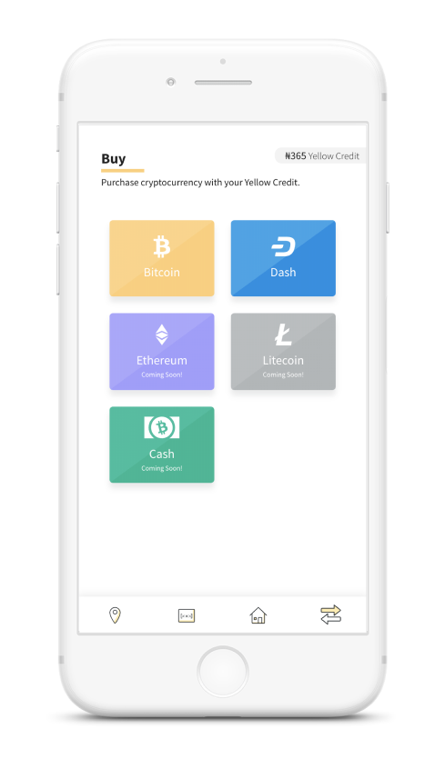 Yellow Card Buy Bitcoin with cash